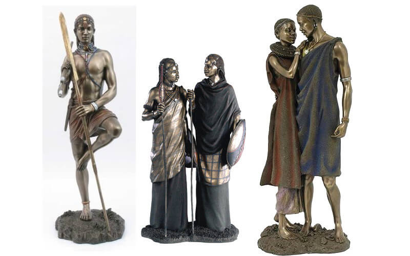 Maasai Collection Figurines
