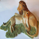 Sherratt and Simpson Lion and Lioness