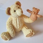 Sherratt and Simpson Bear with Hand Puppet